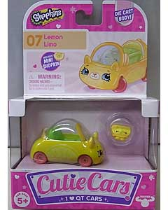 MOOSE TOYS SHOPKINS CUTIE CARS LEMON LIMO