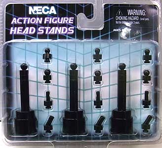 NECA ACTION FIGURE HEAD STANDS