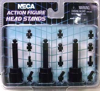NECA ACTION FIGURE HEAD STANDS