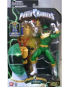 USA BANDAI POWER RANGERS LEGACY COLLECTION 6インチアクションフィギュア ZEO GREEN RANGER