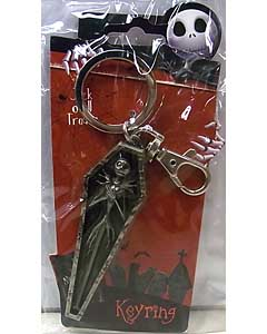 MONOGRAM THE NIGHTMARE BEFORE CHRISTMAS JACK IN COFFIN KEYRING