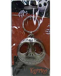 MONOGRAM THE NIGHTMARE BEFORE CHRISTMAS JACK FACE KEYRING