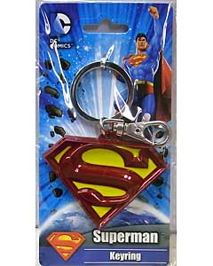 MONOGRAM SUPERMAN KEYRING