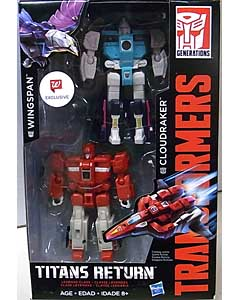 HASBRO TRANSFORMERS GENERATIONS TITANS RETURN WALGREENS限定 LEGENDS CLASS WINGSPAN & CLOUDRAKER 2PACK