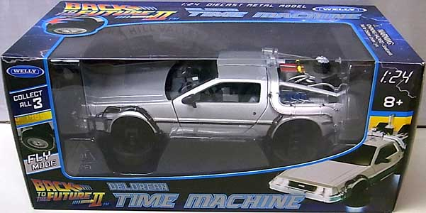 WELLY 1/24スケール BACK TO THE FUTURE PART II DELOREAN TIME MACHINE