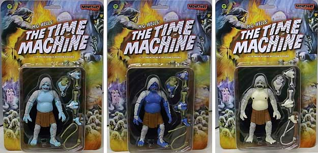 AMOK TIME MONSTARZ 3.75インチアクションフィギュア THE TIME MACHINE THE MORLOCK 3種セット