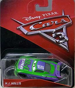 MATTEL CARS 3 シングル H.J. HOLLIS