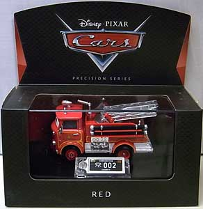 MATTEL CARS 2017 PRECISION SERIES RED