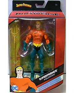 MATTEL DC COMICS MULTIVERSE 6インチアクションフィギュア SUPER FRIENDS AQUAMAN