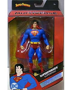 MATTEL DC COMICS MULTIVERSE 6インチアクションフィギュア SUPER FRIENDS SUPERMAN