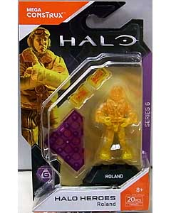 MEGA CONSTRUX HALO HEROES SERIES 6 ROLAND
