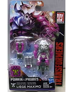 HASBRO TRANSFORMERS GENERATIONS POWER OF THE PRIMES PRIME MASTER LIEGE MAXIMO