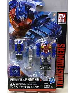 HASBRO TRANSFORMERS GENERATIONS POWER OF THE PRIMES PRIME MASTER VECTOR PRIME 台紙傷み特価