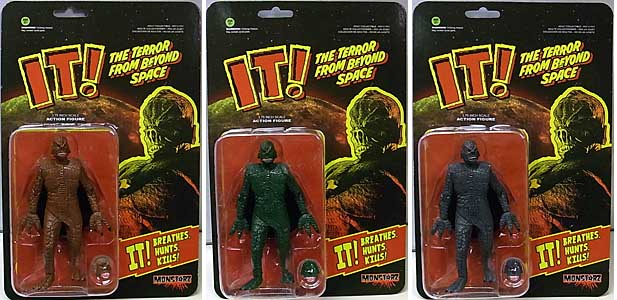AMOK TIME MONSTARZ 3.75インチアクションフィギュア IT! THE TERROR FROM BEYOND SPACE 3種セット