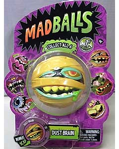 JUST PLAY MADBALLS SERIES 1 DUST BRAIN パッケージ傷み特価