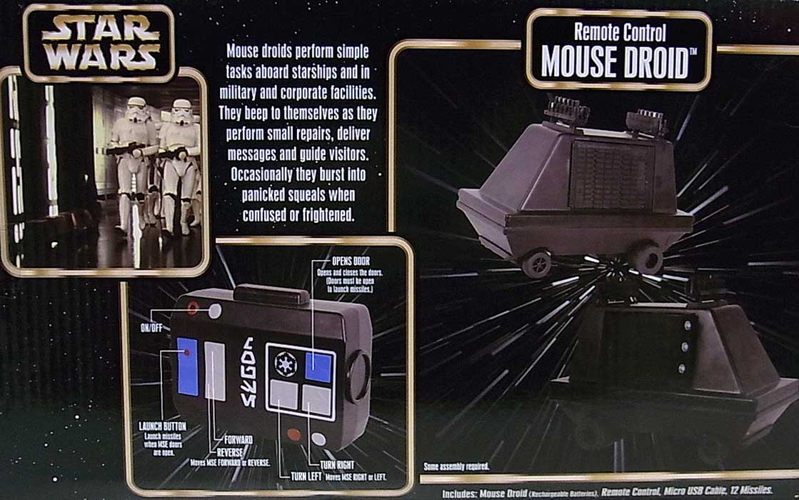 STAR WARS USAディズニーテーマパーク限定 REMOTE CONTROL MOUSE DROID
