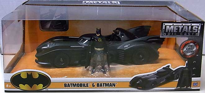 JADA TOYS BATMAN 1989 METALS DIE CAST 1/24スケール BATMOBILE & BATMAN
