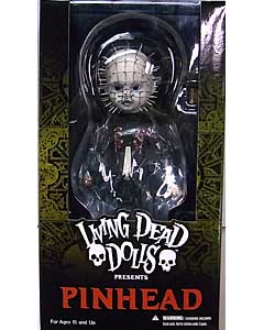 MEZCO LIVING DEAD DOLLS HELLRAISER III: HELL ON EARTH PINHEAD