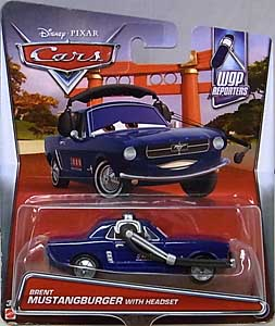 MATTEL CARS 2017 シングル BRENT MUSTANGBURGER WITH HEADSET