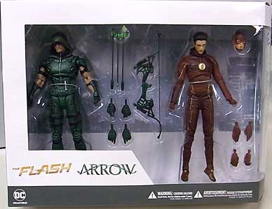 DC COLLECTIBLES THE FLASH & ARROW 2PACK