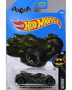 MATTEL HOT WHEELS 1/64スケール 2017 BATMAN BATMAN: ARKHAM KNIGHT BATMOBILE #088