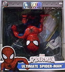 JADA TOYS SPIDER-MAN METALS DIE CAST 6インチフィギュア ULTIMATE SPIDER-MAN パッケージワレ特価