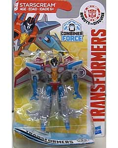 HASBRO アニメ版 TRANSFORMERS ROBOTS IN DISGUISE COMBINER FORCE LEGION CLASS STARSCREAM ブリスターワレ特価