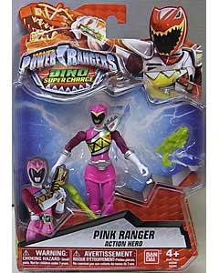 USA BANDAI POWER RANGERS DINO SUPER CHARGE 5インチアクションフィギュア PINK RANGER