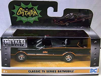 JADA TOYS BATMAN CLASSIC TV SERIES METALS DIE CAST 1/32スケール CLASSIC TV SERIES BATMOBILE
