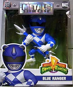 JADA TOYS POWER RANGERS MIGHTY MORPHIN METALS DIE CAST 4インチフィギュア BLUE RANGER