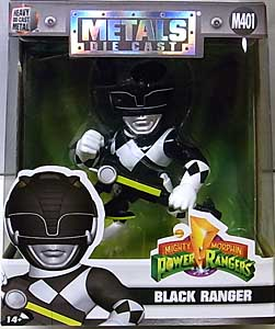 JADA TOYS POWER RANGERS MIGHTY MORPHIN METALS DIE CAST 4インチフィギュア BLACK RANGER