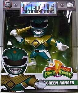 JADA TOYS POWER RANGERS MIGHTY MORPHIN METALS DIE CAST 4インチフィギュア GREEN RANGER