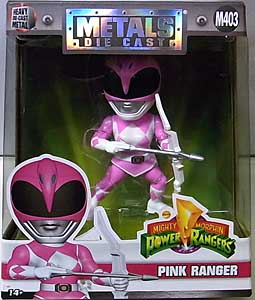 JADA TOYS POWER RANGERS MIGHTY MORPHIN METALS DIE CAST 4インチフィギュア PINK RANGER