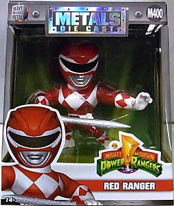 JADA TOYS POWER RANGERS MIGHTY MORPHIN METALS DIE CAST 4インチフィギュア RED RANGER [M400]