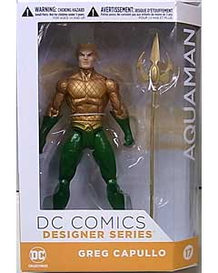 DC COLLECTIBLES DC COMICS DESIGNER SERIES GREG CAPULLO AQUAMAN