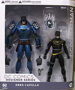 DC COLLECTIBLES DC COMICS DESIGNER SERIES GREG CAPULLO GCPD BATMAN