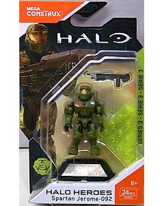 MEGA CONSTRUX HALO HEROES SERIES 3 SPARTAN JEROME-092