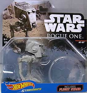 MATTEL HOT WHEELS STAR WARS ROGUE ONE DIE-CAST VEHICLE AT-ST 台紙傷み特価