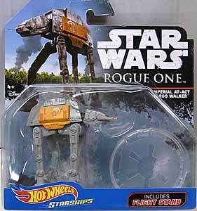 MATTEL HOT WHEELS STAR WARS ROGUE ONE DIE-CAST VEHICLE IMPERIAL AT-ACT CARGO WALKER