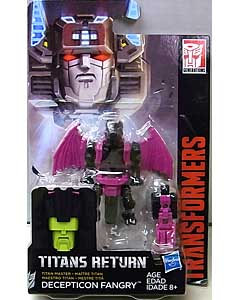 HASBRO TRANSFORMERS GENERATIONS TITANS RETURN TITAN MASTER DECEPTICON FANGRY 台紙傷み特価