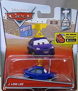 MATTEL CARS 2016 シングル SUPER CHASE J. LOW LEE 台紙傷み特価