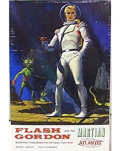 アトランティスモデル 1/8スケール フラッシュ・ゴードン フラッシュ・ゴードン&火星人 組み立て式プラモデル パッケージ傷み特価