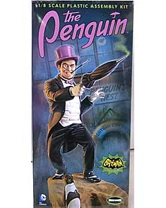 メビウスモデル 1/8スケール バットマン クラシックTVシリーズ ペンギン 組み立て式プラモデル パッケージ傷み特価