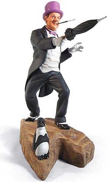 メビウスモデル 1/8スケール バットマン クラシックTVシリーズ ペンギン 組み立て式プラモデル