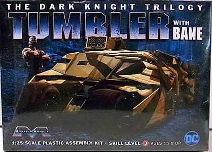 メビウスモデル 1/25スケール バットマン ダークナイト トリロジー 武装タンブラー&ベイン 組み立て式プラモデル