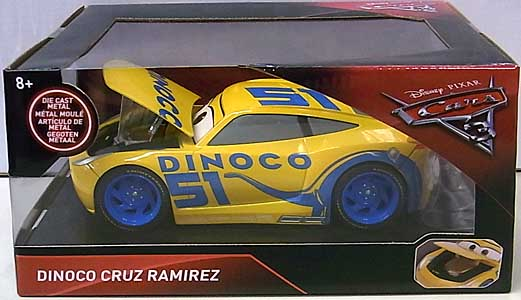 JADA TOYS CARS 3 METALS DIE CAST 1/24スケール DINOCO CRUZ RAMIREZ