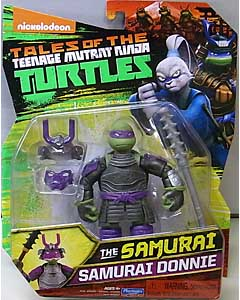 PLAYMATES NICKELODEON TALES OF THE TEENAGE MUTANT NINJA TURTLES ベーシックフィギュア 2017 THE SAMURAI SAMURAI DONNIE