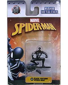 JADA TOYS MARVEL NANO METALFIGS BLACK COSTUME SPIDER-MAN