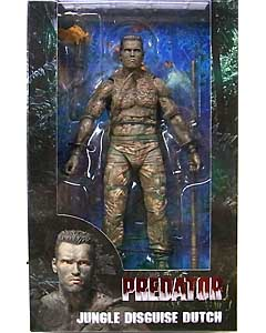 NECA PREDATORS 7インチアクションフィギュア PREDATOR 30TH ANNIVERSARY JUNGLE DISGUISE DUTCH