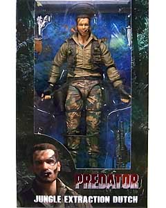 NECA PREDATORS 7インチアクションフィギュア PREDATOR 30TH ANNIVERSARY JUNGLE EXTRACTION DUTCH